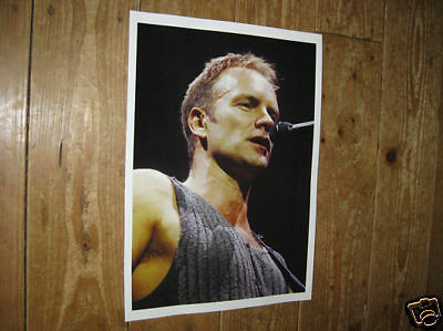 Sting The Police Awsome New Colour Poster Mike