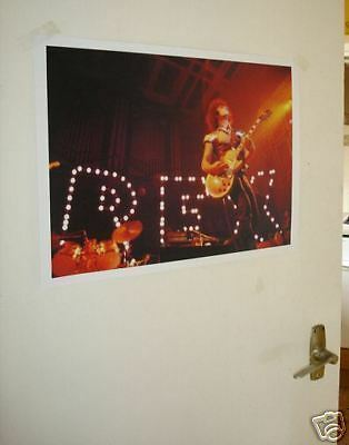 T REX COLOUR MARC BOLAN LIVE ON STAGE NEW POSTER Lights
