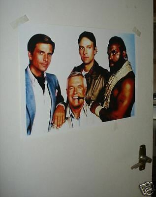 The A Team Full Cast Poster NEW