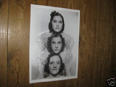 The Andrews Sisters Fantastic POSTER
