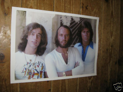 The Bee Gees Early Days White POSTER