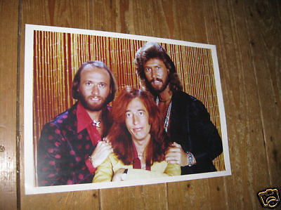 The Bee Gees Fantastic New Poster Gold