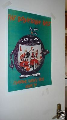 The Boomtown Rats Tour Poster REPRO 1978