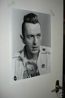 THE CLASH JOE STRUMMER B/W NEW POSTER Face