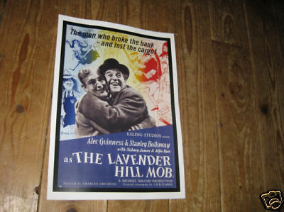 The Lavender Hill Mob Sid James Repro Film POSTER