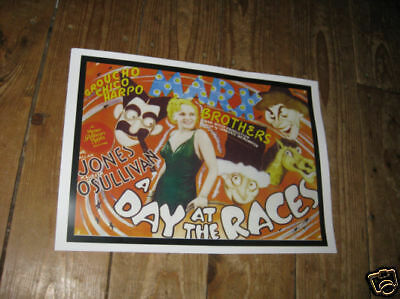 The Marx Brothers A Day at the Races Repro POSTER