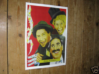 The Marx Brothers Advertising Repro POSTER redface