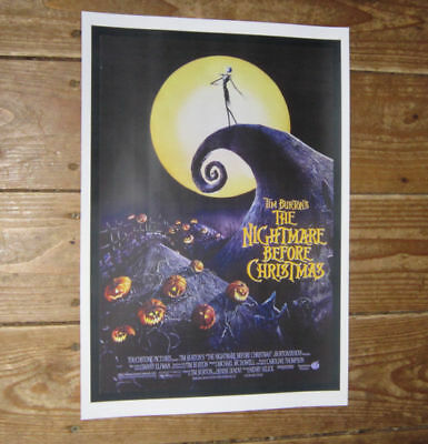 The Nightmare before Christmas Repro Film POSTER