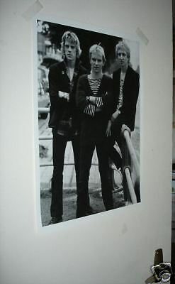 The Police Sting B/W NEW POSTER #2