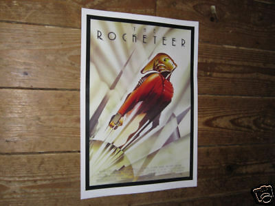 The Rocketeer Repro Film POSTER