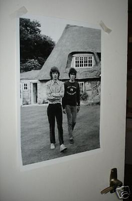 The Rolling Stones Mick Jagger Richards Young Poster