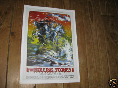 The Rolling Stones Repro Tour POSTER Honolulu