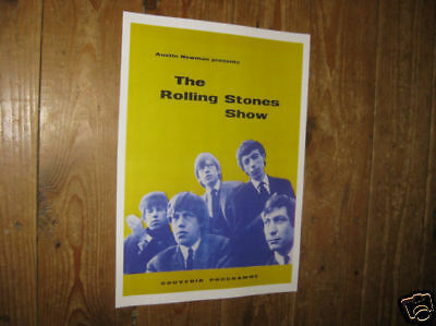 The Rolling Stones Show POSTER of Programme