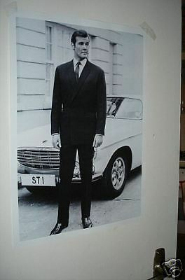 The Saint Simon Templar Roger Moore Door Poster NEW
