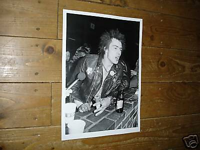 The Sex Pistols Sid Vicious in Bar New poster