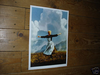 The Sound of Music Julie Andrews POSTER