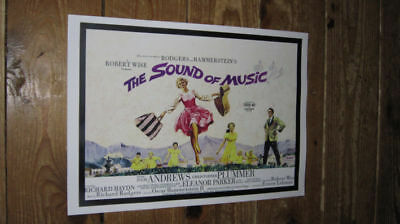The Sound of Music Julie Andrews Repro Film POSTER #2