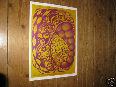 The Who Repro Tour POSTER Load