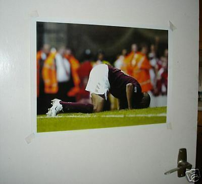 Thierry Henry Last Ever Goal at Highbury Kiss Poster