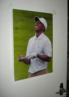 Tiger Woods Golf AWSOME Poster White