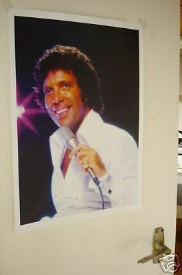Tom Jones Colour Door Poster Young