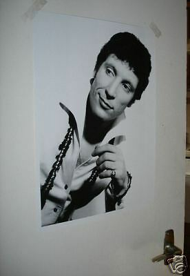 Tom Jones Early FANTASTIC B/W POSTER