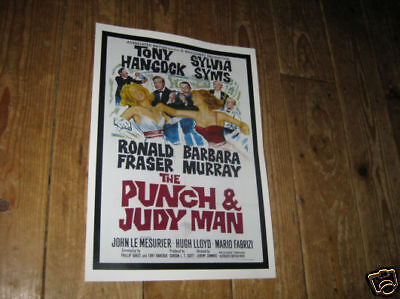 Tony Hancock The Punch and Judy Man Repro POSTER