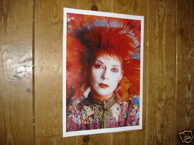 Toyah Willcox Great New Colourful Poster