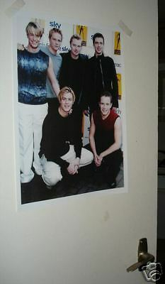 Westlife Colour Group Door Poster