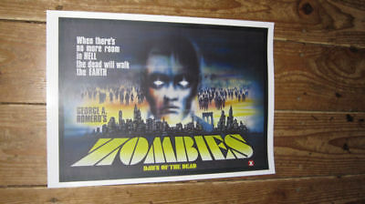 Zombies Dawn of the Dead Repro Film POSTER