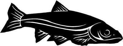 Sacramento Squaw Fish Vinyl Decal Car Truck Boat RV Wall Signs Window Sticker