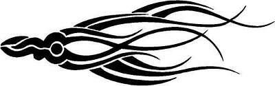 Tribal Fish Vinyl Decal Car Truck RV Signs Trailer Window Sticker 142-23