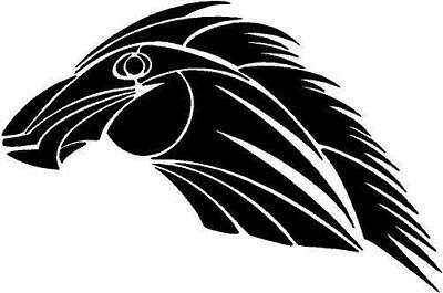 Native Tribal Head Vinyl Decal Car Truck RV Window Signs Trailers Sticker 142-07