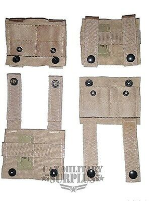 US Military Issue SDS ALICE Clip Adapters Lot of 4 New