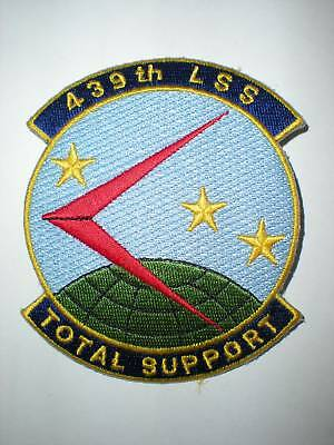 USAF 439TH LOGISTICS SUPPORT SQUADRON LSS PATCH -COLOR