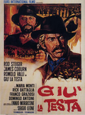 A fistful of dynamite James Coburn movie poster print #2