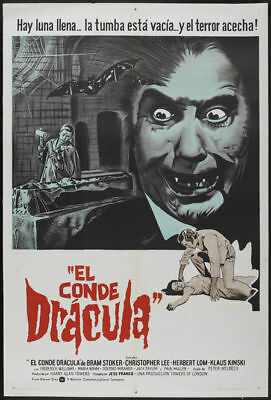 Dracula pere /& fils Christopher Lee Horror #2 poster