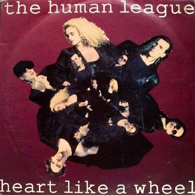 The Human League - heart like a wheel / rebound 45""