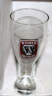 1 Widmer Brothers Glass 0.5 L New Golden Lettering