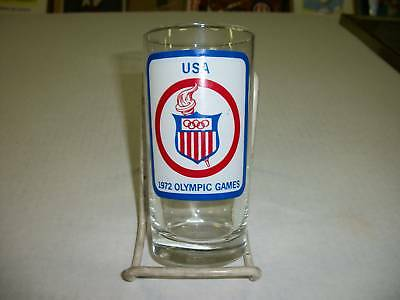 Olympic Games USA 1972 Commemorative Glass