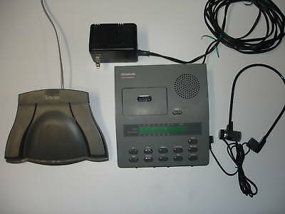 3- Dictaphone 3750 ExpressWriter P. Microcassette units