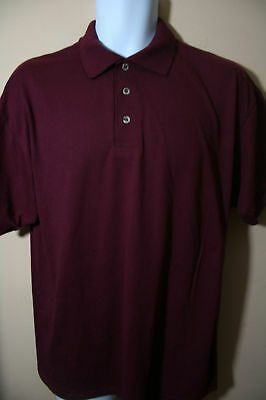 Men Burgundy TX  A & M Aggie Color & Blue Gold Orange Beige, Stripe Polo  Shirts