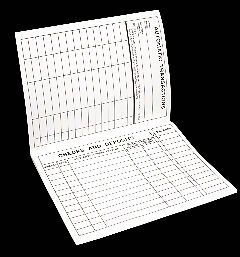 Large Print Check Book Register
