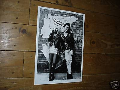The Sex Pistols Gary Oldman as Sid Vicious Nancy Poster