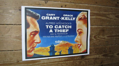 Grace Kelly Cary Grant To Catch a Thief Repro POSTER