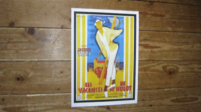 Monsieur Hulot's Holiday Repro Film POSTER