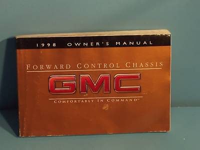 98 1998 GMC Front Control Chassis owners manual