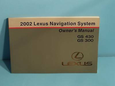 02 2002 Lexus GS430/GS300 Navigation manual