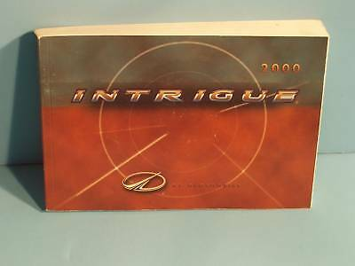 00 2000 oldsmobile intrigue owners manual 6 25 picclick rh picclick com 2000 Oldsmobile Intrigue Parts 2000 oldsmobile intrigue owner's manual