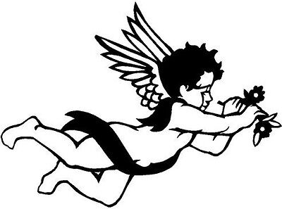 Cherub Vinyl Decal Sticker Car Truck Window